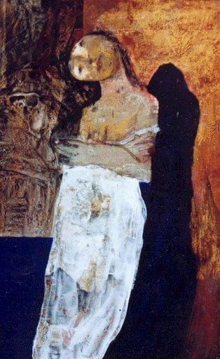 Invitation - Laque sur bois - 1999