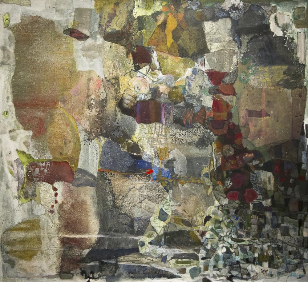 Buzios - 110x107 cm – Cire sur toile – 2011