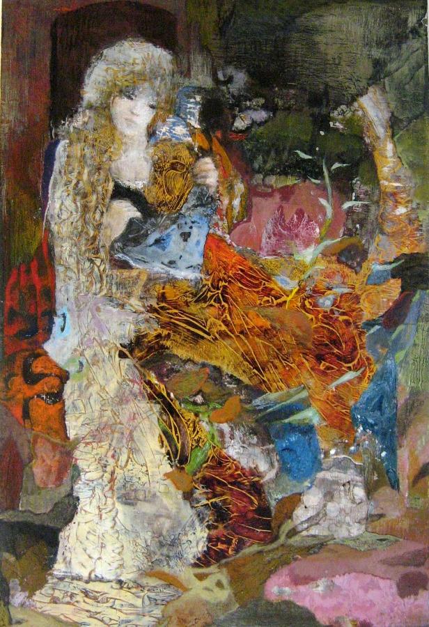Providence - 41*57 cm - Cire sur bois - 2008