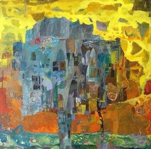 Noces sylvestres - 80x80cm (2016)