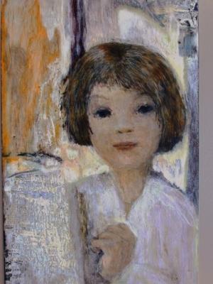 Portrait (Cire sur bois - 2003)