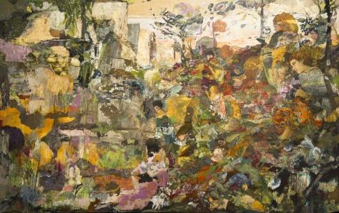 L'Epreuve - 123*77 cm - Cire sur papier marouflé - 2010