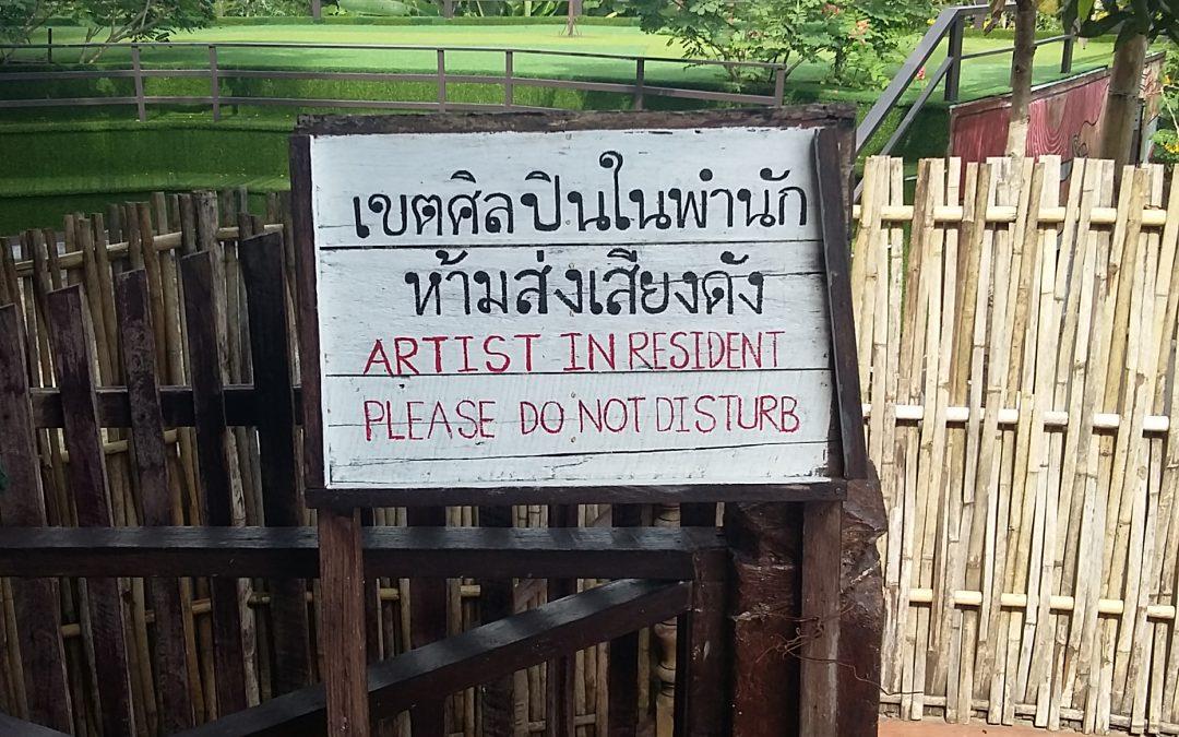 EN RESIDENCE EN THAILANDE – Nov. Dec. 17